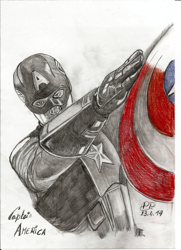 Captain America by Patoux